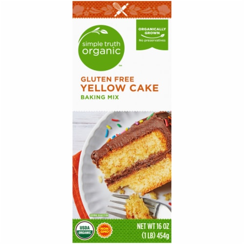 Simple Truth Organic™ Gluten Free Yellow Cake Baking Mix Perspective: left