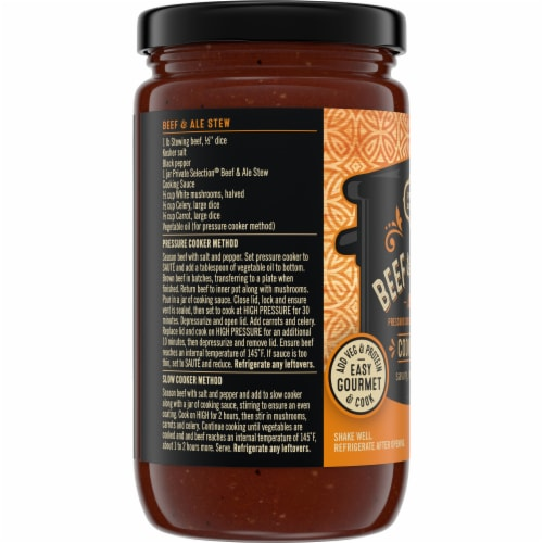 Private Selection® Beef & Ale Stew Cooking Sauce Perspective: left