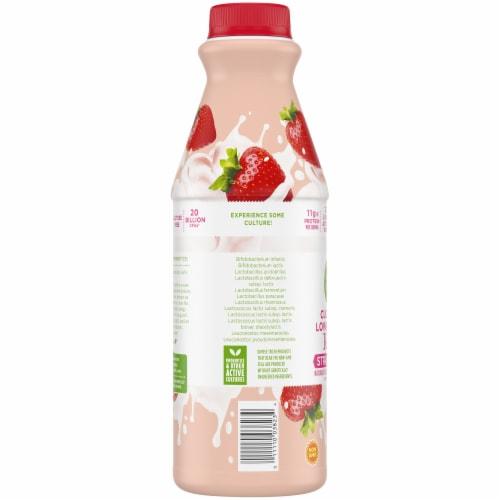 Simple Truth™ Strawberry Cultured Lowfat Milk Kefir Perspective: left