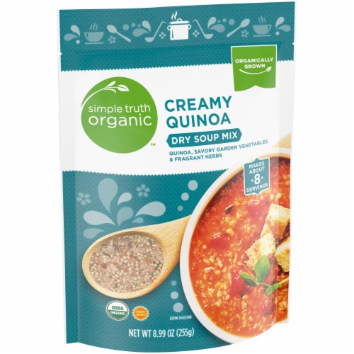 Simple Truth Organic™ Creamy Quinoa Dry Soup Mix Perspective: left