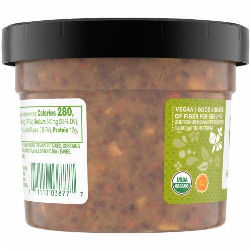 Simple Truth Organic® Lentil Vegetable Soup Perspective: left
