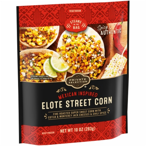 Private Selection® Mexican Inspired Elote Mexican Corn Perspective: left