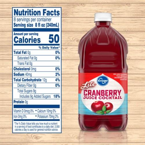Kroger® Lite Cranberry Juice Cocktail Perspective: left