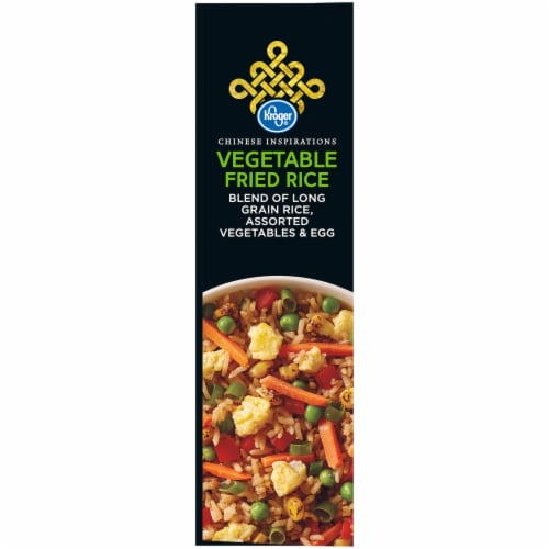 Kroger® Chinese Inspirations Vegetable Fried Rice Perspective: left