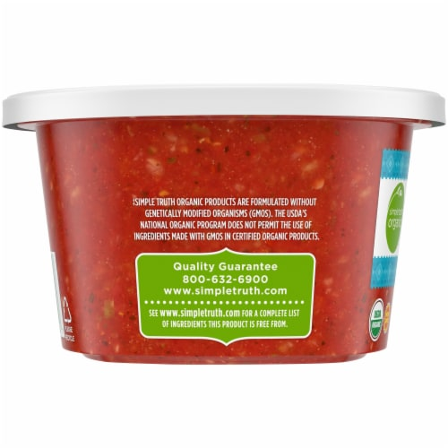 Simple Truth Organic™ Restaurant Style Mild Salsa Perspective: left