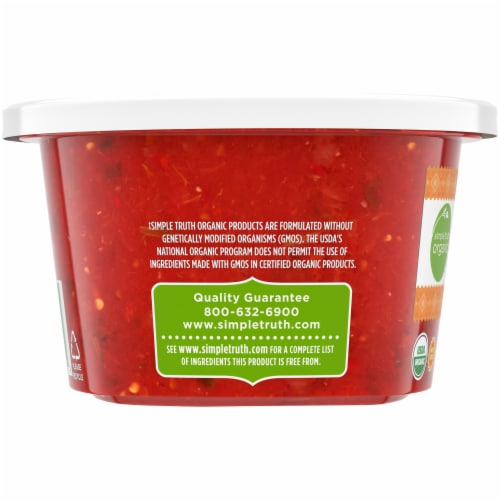 Simple Truth Organic™ Medium Restaurant Style Salsa Tub Perspective: left