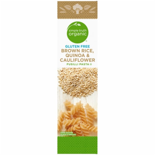 Simple Truth Organic® Gluten Free Cauliflower and Quinoa Fusilli Pasta Perspective: left