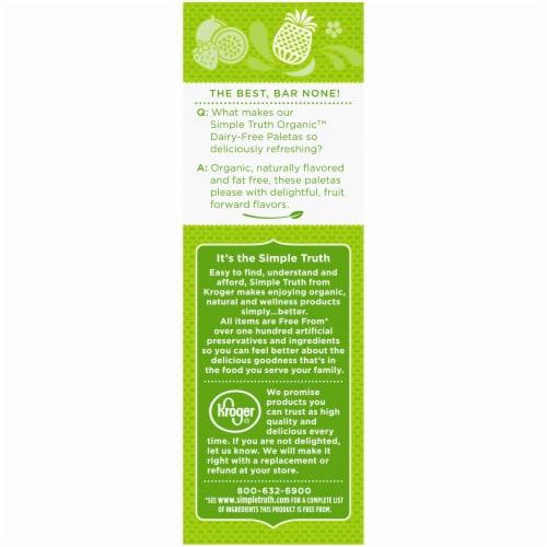 Simple Truth Organic™ Paletas Caribbean Style Mix Frozen Fruit Bars Perspective: left