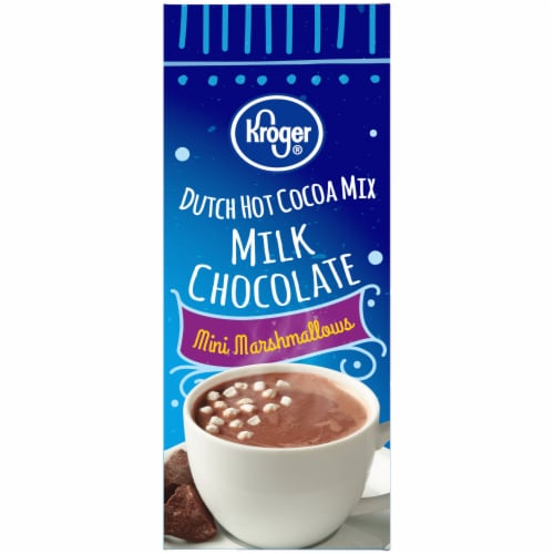 Kroger® Dutch Milk Chocolate Hot Cocoa with Mini Marshmallows Perspective: left