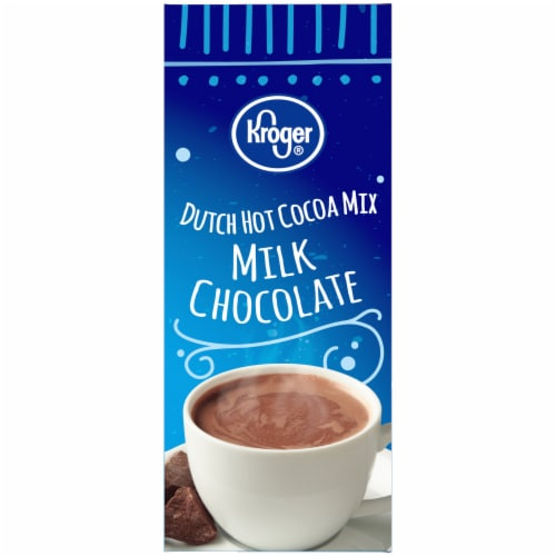 Kroger® Dutch Milk Chocolate Hot Cocoa Mix 8 ct Perspective: left