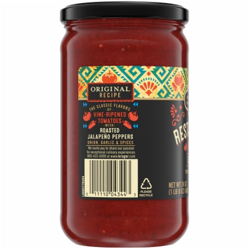 Private Selection® Medium Restaurant Style Salsa Perspective: left