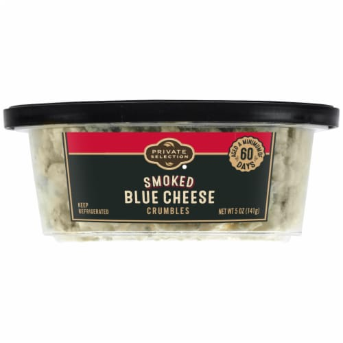 Private Selection® Smoked Blue Cheese Crumbles Perspective: left