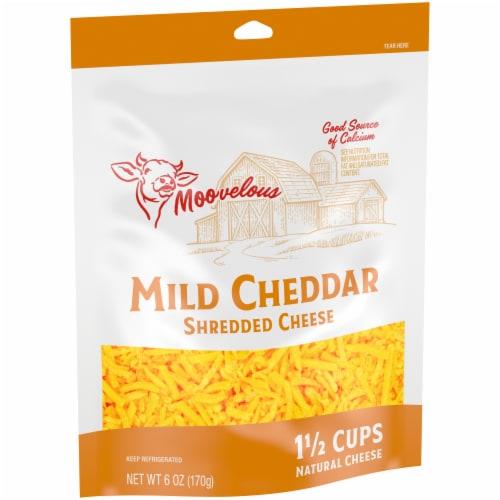 Moovelous Mild Shredded Cheese Perspective: left
