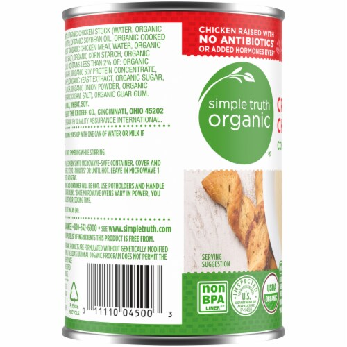 Simple Truth Organic™ Cream of Chicken Condensed Soup Perspective: left