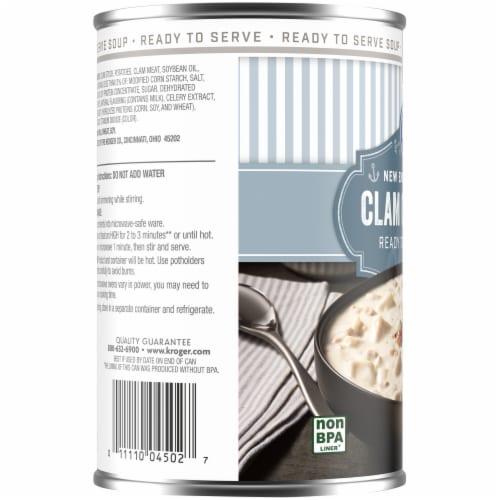 Kroger® New England Style Clam Chowder Perspective: left