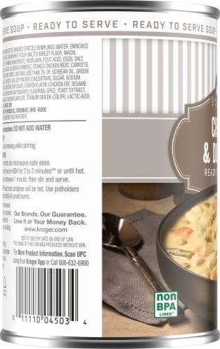 Kroger® Chicken & Dumpling Soup Perspective: left