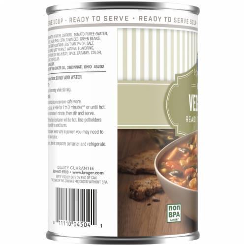 Kroger® Hearty Vegetable Soup Perspective: left