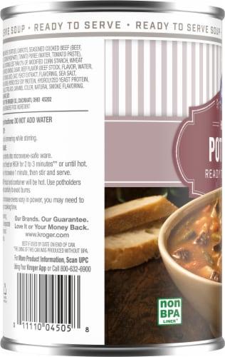 Kroger® Hearty Pot Roast Soup Perspective: left