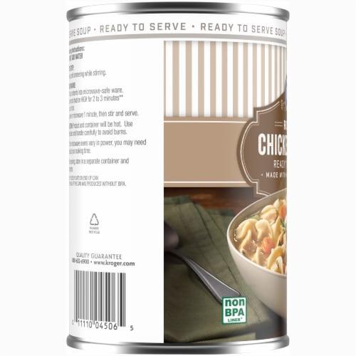Kroger® Roasted Chicken Noodle Soup Perspective: left