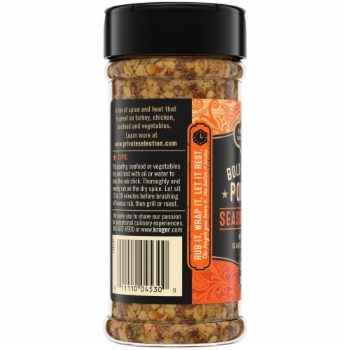 Private Selection® Bold & Savory Poultry Seasoning Rub Perspective: left