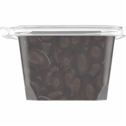 Pre-Packaged Bulk Dark Chocolate Covered Almonds Perspective: left