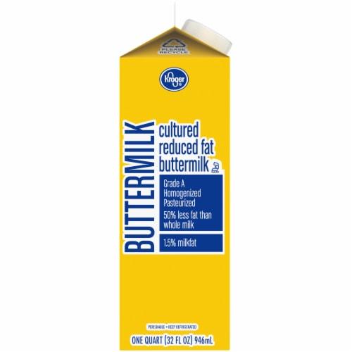 Kroger® Reduced Fat Buttermilk Perspective: left