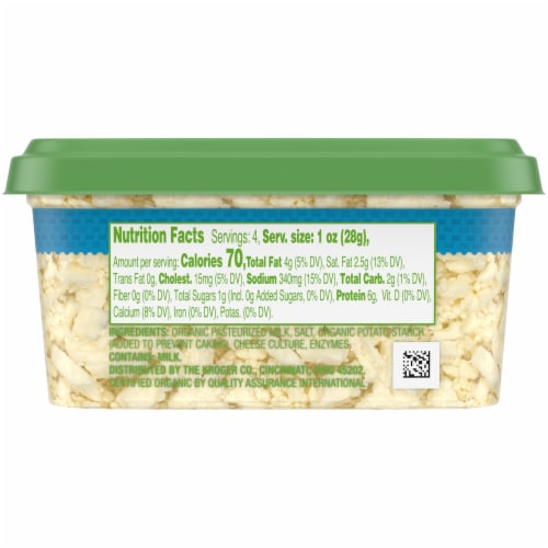 Simple Truth Organic™ Feta Cheese Crumbles Perspective: left