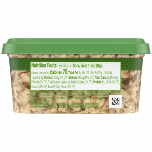 Simple Truth Organic™ Mediterranean Style Herb Feta Cheese Crumbles Perspective: left