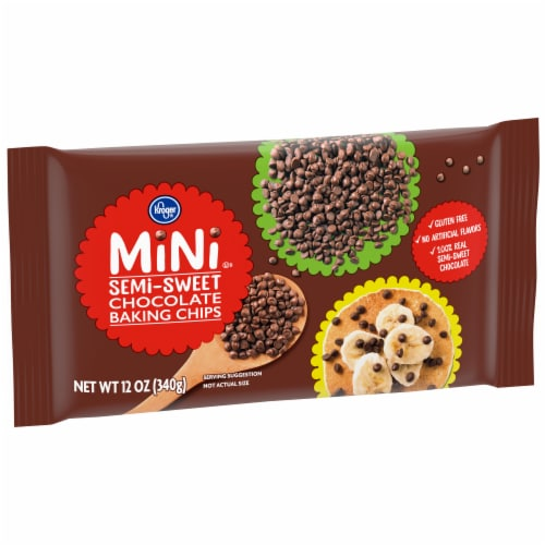 Kroger® Semi-Sweet Chocolate Baking Chips Perspective: left