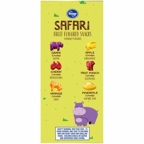 Kroger® Safari Fruit-Flavored Snacks Perspective: left