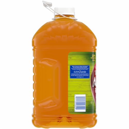 Kroger® 100% Apple Juice From Concentrate Bottle Perspective: left
