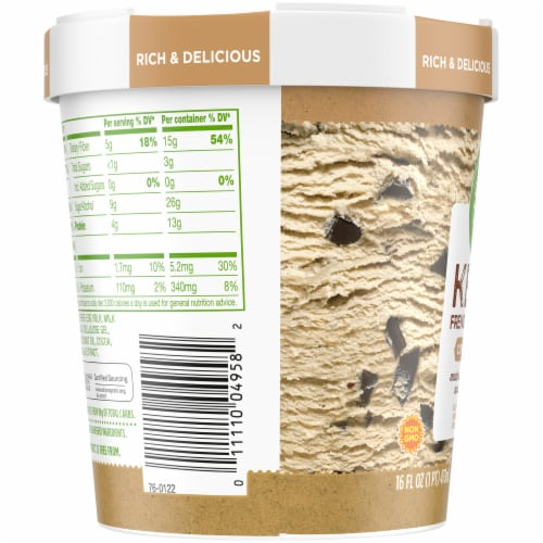 Simple Truth™ Keto Coffee Chip French Ice Cream Perspective: left