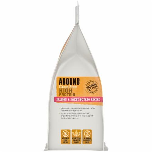 ABOUND® Grain Free Salmon & Sweet Potato Recipe Cat Food Perspective: left
