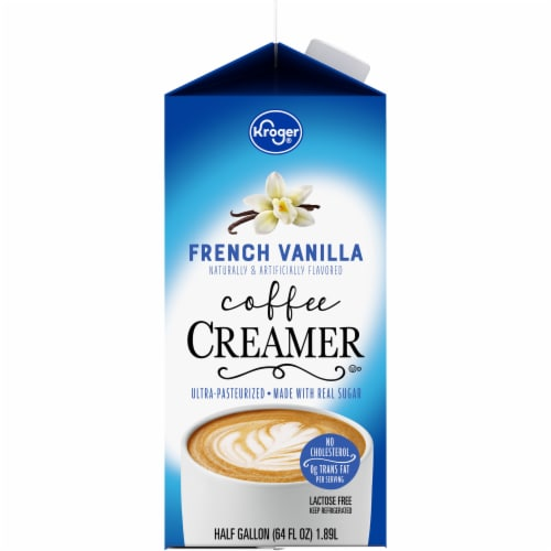 Kroger® French Vanilla Coffee Creamer Perspective: left