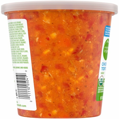 Simple Truth Organic™ Chicken Tortilla Soup Perspective: left