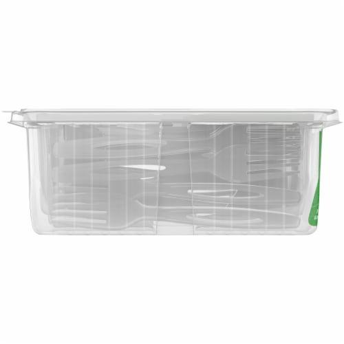 Kroger® Celebration Clear Plastic Dinnerware Sets Perspective: left