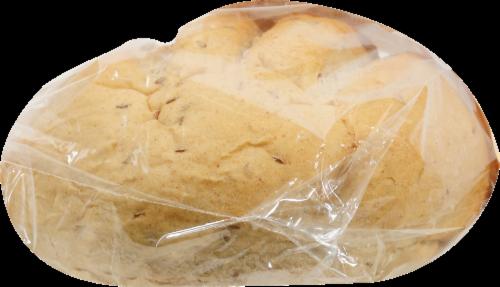 Bakery Fresh Seeded Light Rye Bread Perspective: left