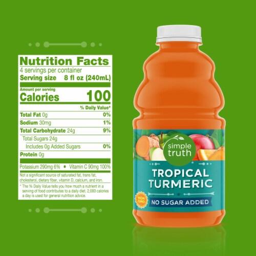 Simple Truth® Organic Tropical Turmeric Fruit Juice Perspective: left