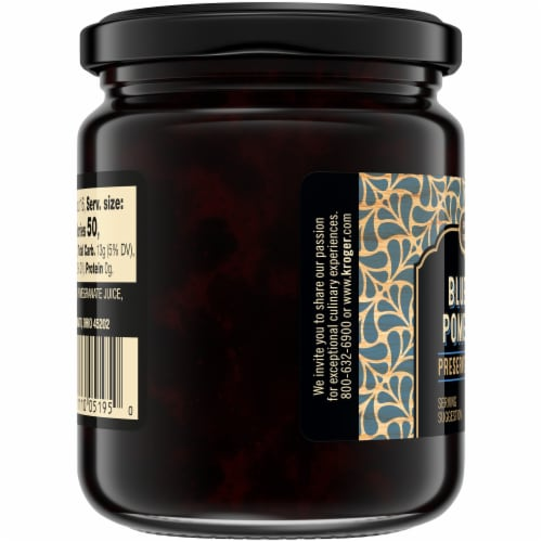 Private Selection® Blueberry & Pomegranate Preserves Perspective: left