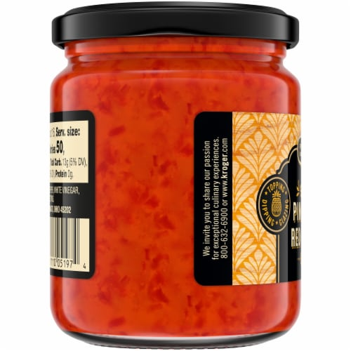 Private Selection® Sweet Pineapple Red Pepper Jelly Perspective: left
