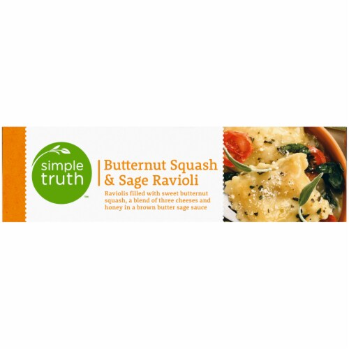 Simple Truth™ Butternut Squash & Sage Ravioli Frozen Meal Perspective: left