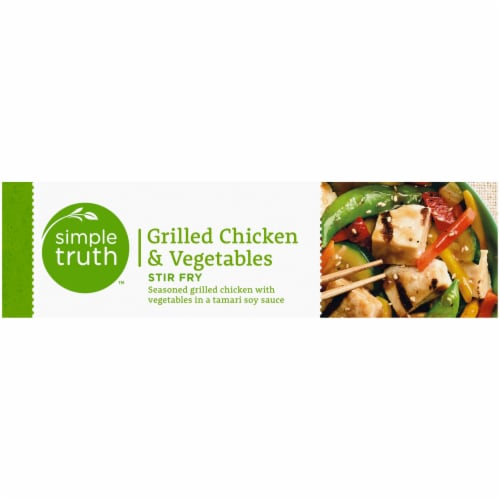 Simple Truth™ Grilled Chicken & Vegetables Stir Fry Perspective: left