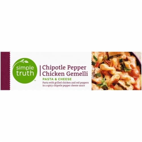 Simple Truth™ Chipotle Pepper Chicken Gemelli Pasta & Cheese Perspective: left