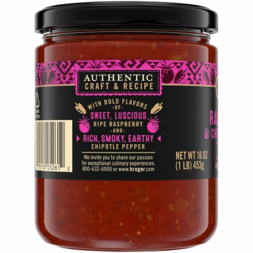 Private Selection® Medium Raspberry & Chipotle Pepper Salsa Perspective: left