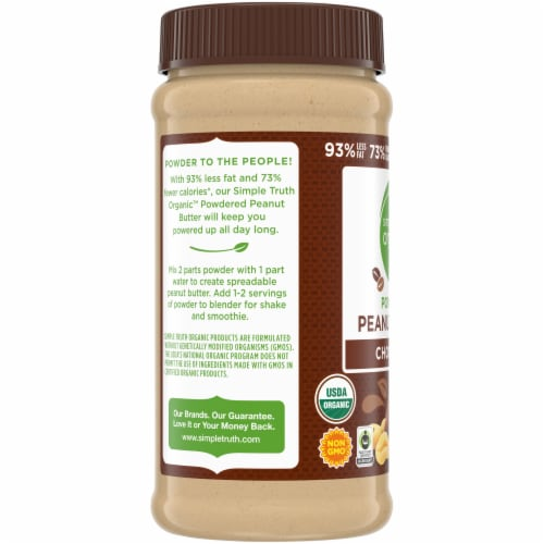 Simple Truth Organic™ Chocolate Powdered Peanut Butter Perspective: left