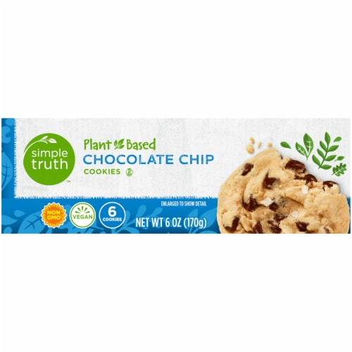 Simple Truth™ Plant-Based Chocolate Chip Cookies Perspective: left