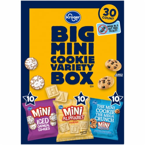 Kroger® Big Mini Cookie Variety Box Perspective: left