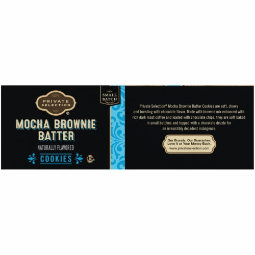 Private Selection® Mocha Brownie Batter Cookies Perspective: left