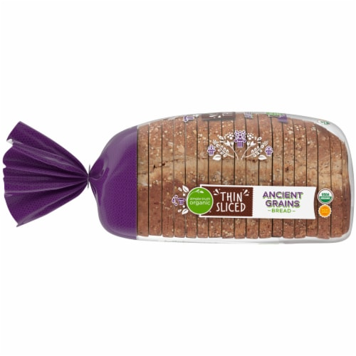 Simple Truth Organic™ Thin Sliced Ancient Grains Bread Perspective: left