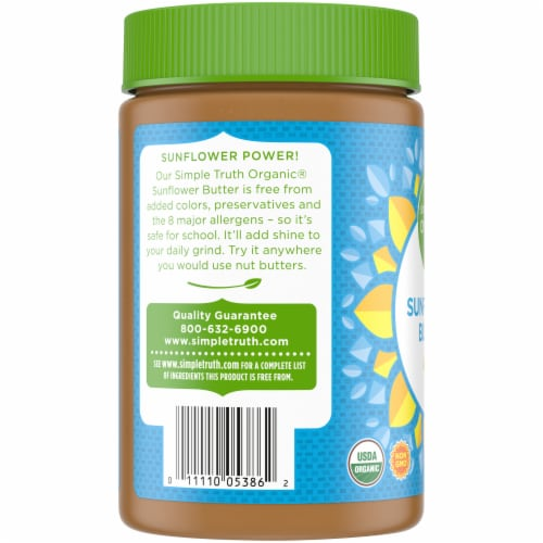 Simple Truth Organic® Sunflower Butter Perspective: left